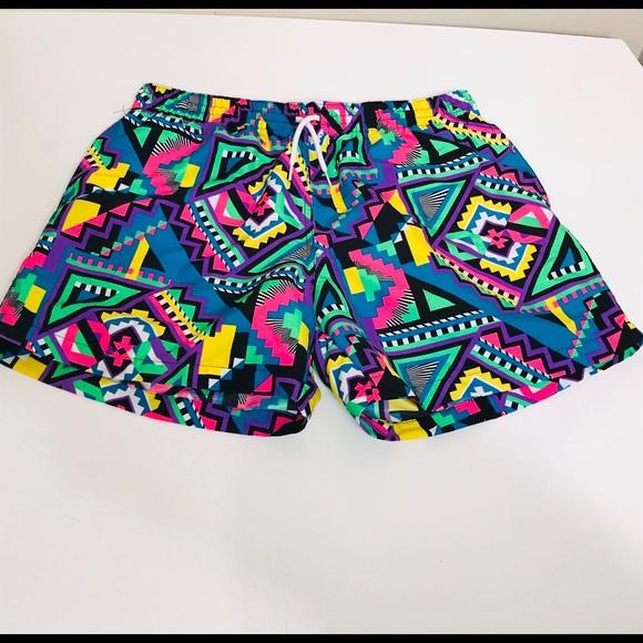 e63442ebf9099 chubbies Shorts | Neon Aztec Mens Xl Swim Suit Lined Trunks | Poshmark